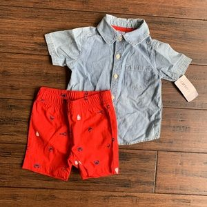 Matching set from Carters